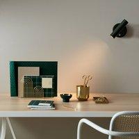 Slender LED wall light  green