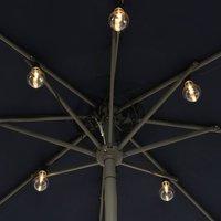 490145 LED string lights for parasols filament