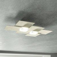 GROSSMANN Creo LED ceiling light 2 bulb champagne