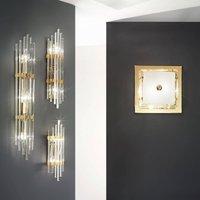 Ontario wall light  height 60 cm  gold
