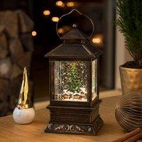 LED snow lantern Christmas Market water filled