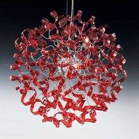 Fascinating hanging light CHERRY  round