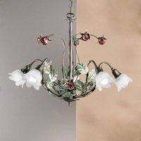 ROSAIO hanging light with five bulbs