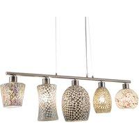 Arezzo pendant light  five bulb