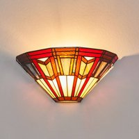 LILLIE wall light in Tiffany style