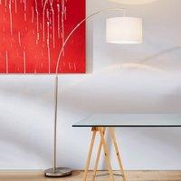 Classic arc lamp Clarie  white