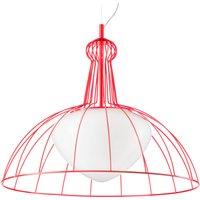 Red Lab designer pendant lamp   made in Italy