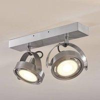 LED spotlight Munin  dimmable  alu  two bulb