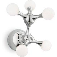 Nodi Bianco wall light 5 bulb G4