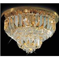 Cristalli ceiling light 24 carat  gold plated