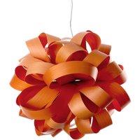 LZF Agatha Ball hanging light  84 x 80 cm  orange