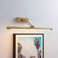 Lucande Dimitrij LED picture light antique brass