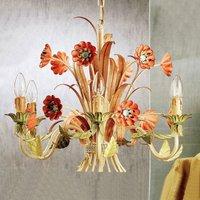 NOVARA colourful chandelier