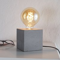 Modern table lamp Strong made of concrete