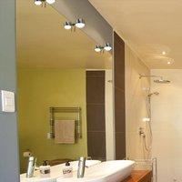 Puk Fix  LED clip on mirror light  chrome