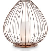 Karman Cell   floor lamp with cage   57 cm  bronze