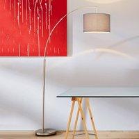 Classic arc lamp Clarie  grey