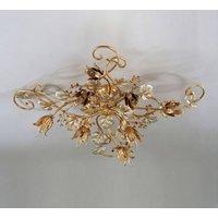 Marian large matt gold ceiling light