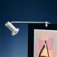 Standard clip on spotlight GRIP  silver