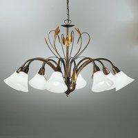 Eight bulb elegant hanging light CAMPANA