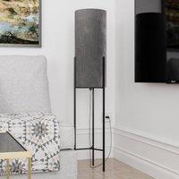 By Ryd ns Honey floor lamp  velvet lampshade  grey