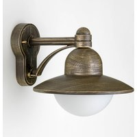 Carla   attractively shaped outdoor wall light