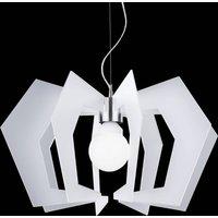 Innovative designer hanging light Spider  white