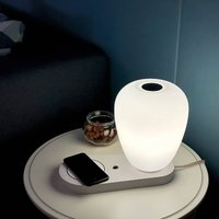 Like table lamp  USB and wireless charger
