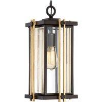 Goldenrod pendant light for outdoor use