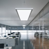 IDOO LED hanging light for offices 49 W  silver