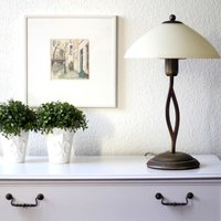 Attractively shaped Capri table lamp