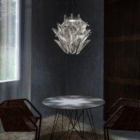 Terzani Moir  LED hanging light in nickel