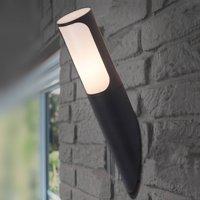 Gap   a modern outdoor wall torch