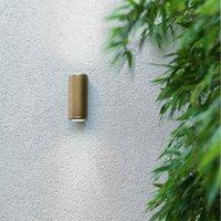 Jura Twin   chic outdoor wall light made of brass