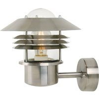 Outdoor wall lamp Vejers made of stainless steel