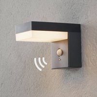 Chioma LED solar outdoor wall lamp with sensor