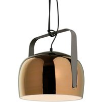 Karman Bag   pendant light  21 cm  bronze
