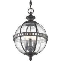 Halleron outdoor hanging light in Victorian style