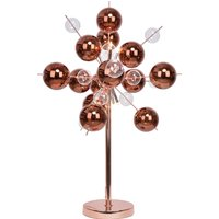 Explosion   interesting table lamp in copper