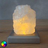 Salt Mountain battery powered LED table lamp