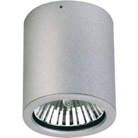 Gavino outdoor rec  ceiling spotlight in silver