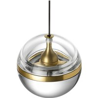 Lumina Limbus LED hanging light 3 000 K  brass