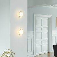 Shade  S1 wall rings brass cable white Node