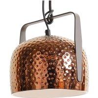 Karman Bag   bronze hanging lamp  32 cm