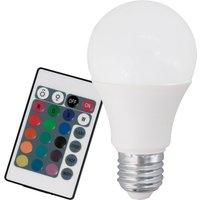 LED bulb E27 9 W RGB warm white  remote control