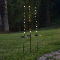 Flexy LED solar light  set of three