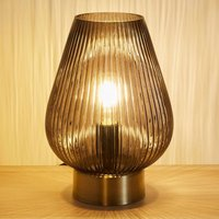 Pauleen Crystal Gloom table lamp made of glass