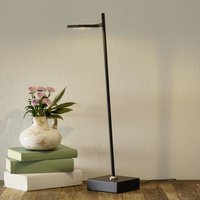 Block LED table lamp  dimmable  black