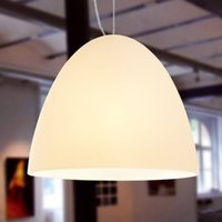 BELL   1 bulb sand coloured pendant light 30 cm
