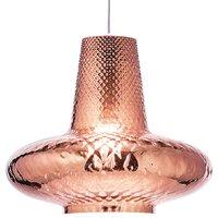 Giulietta hanging lamp 130 cm metallic rose gold